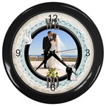 We Do Black Clock - Wall Clock (Black)
