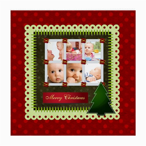 Christmas By Joely   Medium Glasses Cloth   Lr76u8h0zj9v   Www Artscow Com Front