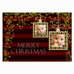 christmas - Large Glasses Cloth