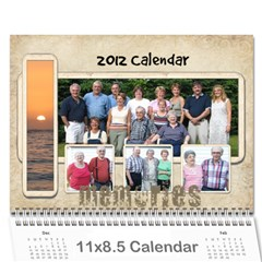Dads Calender By Lise   Wall Calendar 11  X 8 5  (12 Months)   Wc6xf6iclwlp   Www Artscow Com Cover