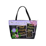 All of the Pieces Of My Heart Purple - Classic Shoulder Handbag