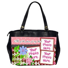 All Of The Pieces Of My Heart Office By Digitalkeepsakes   Oversize Office Handbag (2 Sides)   2l6y0g10dqui   Www Artscow Com Back