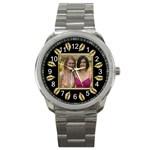 Gold Leaf Sports Watch - Sport Metal Watch