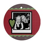 Christmas Ornament - Round Ornament (Two Sides)
