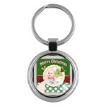 christmas - Key Chain (Round)