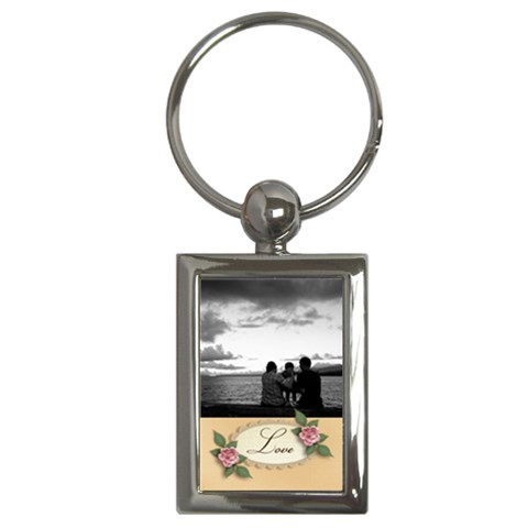 Keychain: Love By Jennyl   Key Chain (rectangle)   G0mh1t5fgmxg   Www Artscow Com Front