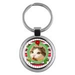 christmas - Key Chain (Round)