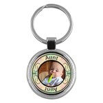Aunt Round Key Chain - Key Chain (Round)