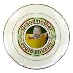 Grandmother Porcelain Plate