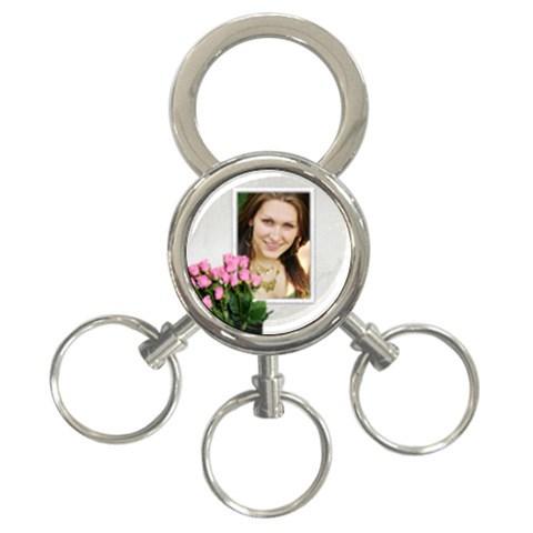 Love By Deborah   3 Ring Key Chain   0qe1xfggk39n   Www Artscow Com Front