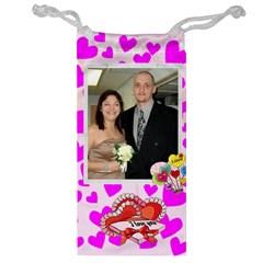 Heart Jewelry Bag By Kim Blair   Jewelry Bag   Kdd8mig8m7mn   Www Artscow Com Front