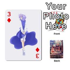 Touhou Playing Card Deck Reimu Back By K Kaze   Playing Cards 54 Designs   6b2xwy4bizyw   Www Artscow Com Front - Diamond3