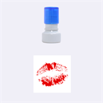 kiss - Rubber Stamp Round (Small)