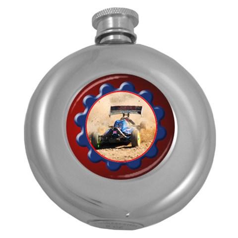 Gears Hip Flask By Deborah   Hip Flask (5 Oz)   A9ofyho9hm2t   Www Artscow Com Front