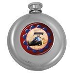 Gears Hip Flask - Hip Flask (5 oz)