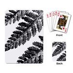 Playing Fern 1 - Playing Cards Single Design