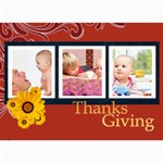 thanks giving - 5  x 7  Photo Cards