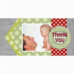 Thank You By Joely   4  X 8  Photo Cards   Rl6o6vz3o34p   Www Artscow Com 8 x4 Photo Card - 1