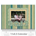 mdcal - Wall Calendar 11  x 8.5  (12-Months)