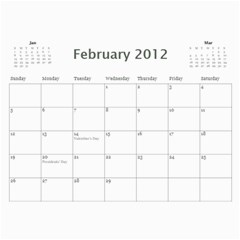 Dad By Mike Anderson   Wall Calendar 11  X 8 5  (12 Months)   Sq4ad8js53ej   Www Artscow Com Feb 2012