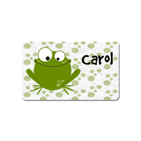 Animaland Magnet 01 By Carol   Magnet (name Card)   Zm6k57atizq4   Www Artscow Com Front