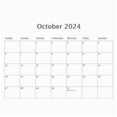 My General Purpose Picture Calendar 11x8 5 By Deborah   Wall Calendar 11  X 8 5  (12 Months)   Vw59jxe0z20v   Www Artscow Com Oct 2018