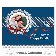 Every Year By Joely   Wall Calendar 11  X 8 5  (12 Months)   801uqyiwdzgx   Www Artscow Com Cover