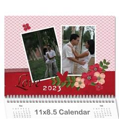 Wall Calendar 11 X 8 5 : Love By Jennyl   Wall Calendar 11  X 8 5  (12 Months)   40vlvqqqmwjp   Www Artscow Com Cover