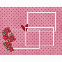 Wall Calendar 11 X 8 5 : Love By Jennyl   Wall Calendar 11  X 8 5  (12 Months)   40vlvqqqmwjp   Www Artscow Com Month