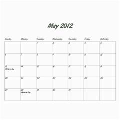 Koerner Calendar 2011 By Alecia    Wall Calendar 11  X 8 5  (12 Months)   Xecmv2nnnb13   Www Artscow Com May 2012