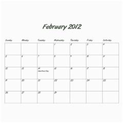 Rayhons Calendar 2011 By Alecia    Wall Calendar 11  X 8 5  (12 Months)   578nzlgmagmb   Www Artscow Com Feb 2012
