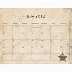 Wendy s 2012 Calendar By Wendy   Wall Calendar 11  X 8 5  (12 Months)   4m7ermpirbjw   Www Artscow Com Jul 2012