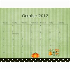 Wendy s 2012 Calendar By Wendy   Wall Calendar 11  X 8 5  (12 Months)   4m7ermpirbjw   Www Artscow Com Oct 2012