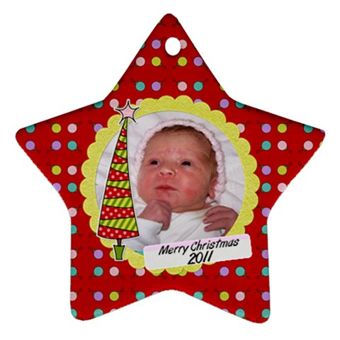 Star 2011 By Martha Meier   Ornament (star)   Sx6f6hr2lr7s   Www Artscow Com Front