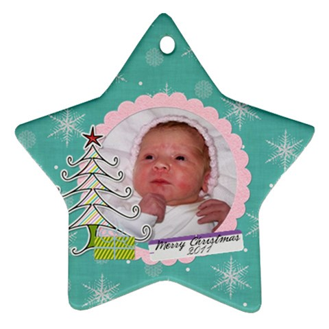 Star 2011 B By Martha Meier   Ornament (star)   Oyvodait07zr   Www Artscow Com Front