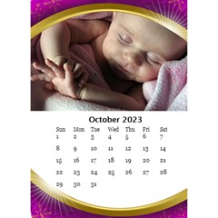 Desktop Calendar With Class (6x8 5) By Deborah   Desktop Calendar 6  X 8 5    1a0p27ni66fu   Www Artscow Com Oct 2018