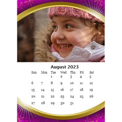 Desktop Calendar With Class (6x8 5) By Deborah   Desktop Calendar 6  X 8 5    1a0p27ni66fu   Www Artscow Com Aug 2018