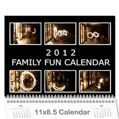 Calander 2012 By Vanessa   Wall Calendar 11  X 8 5  (12 Months)   Thhxcwb8ow92   Www Artscow Com Cover