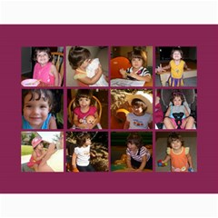 Calendar By Miriam   Wall Calendar 11  X 8 5  (12 Months)   X92x8mnrbwd5   Www Artscow Com Month