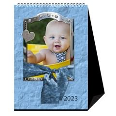 Sweet Baby Boy Desktop Calendar 6 x8 5  By Lil    Desktop Calendar 6  X 8 5    Otnruf2dcft1   Www Artscow Com Cover