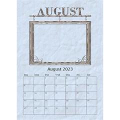 Sweet Baby Boy Desktop Calendar 6 x8 5  By Lil    Desktop Calendar 6  X 8 5    Otnruf2dcft1   Www Artscow Com Aug 2015