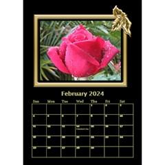 Black And Gold Desktop Calendar (6 Inch) By Deborah   Desktop Calendar 6  X 8 5    Jbl0jp9mrlxw   Www Artscow Com Feb 2018