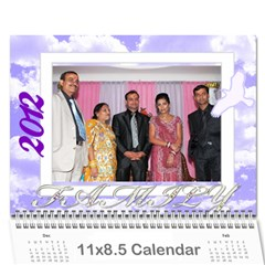 Calender Surat By Paridhi Gupta   Wall Calendar 11  X 8 5  (12 Months)   B6isxcdwdodg   Www Artscow Com Cover