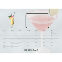 Happy Hour Desktop Calendar 8 5 x6  By Lil    Desktop Calendar 8 5  X 6    3s2ri91a28p7   Www Artscow Com Jan 2015