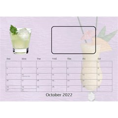 Happy Hour Desktop Calendar 8 5 x6  By Lil    Desktop Calendar 8 5  X 6    3s2ri91a28p7   Www Artscow Com Oct 2015