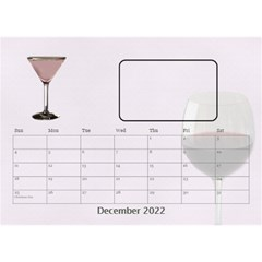 Happy Hour Desktop Calendar 8 5 x6  By Lil    Desktop Calendar 8 5  X 6    3s2ri91a28p7   Www Artscow Com Dec 2015