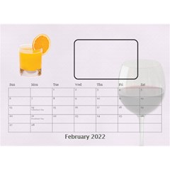 Happy Hour Desktop Calendar 8 5 x6  By Lil    Desktop Calendar 8 5  X 6    3s2ri91a28p7   Www Artscow Com Feb 2015