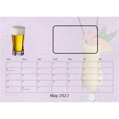Happy Hour Desktop Calendar 8 5 x6  By Lil    Desktop Calendar 8 5  X 6    3s2ri91a28p7   Www Artscow Com May 2015