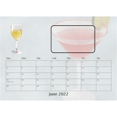 Happy Hour Desktop Calendar 8 5 x6  By Lil    Desktop Calendar 8 5  X 6    3s2ri91a28p7   Www Artscow Com Jun 2015