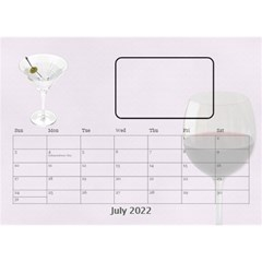 Happy Hour Desktop Calendar 8 5 x6  By Lil    Desktop Calendar 8 5  X 6    3s2ri91a28p7   Www Artscow Com Jul 2015
